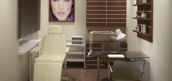 Маникюр, педикюр и покрытие гель-лаком (однотонное) в салоне «Сана Бьюти»