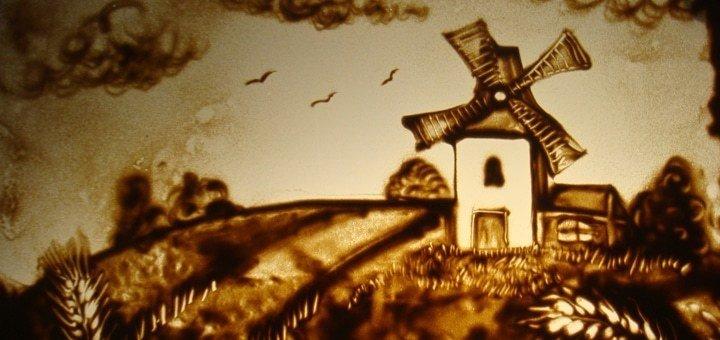 Мастер-класс по песочной анимации для одного, двоих, троих или четверых от студии «Творчество без границ»