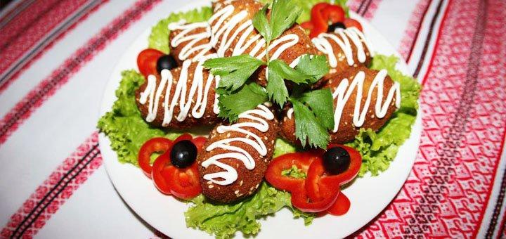 Ужин для двоих, четверых или банкет для компании в ресторане «Смаколики»