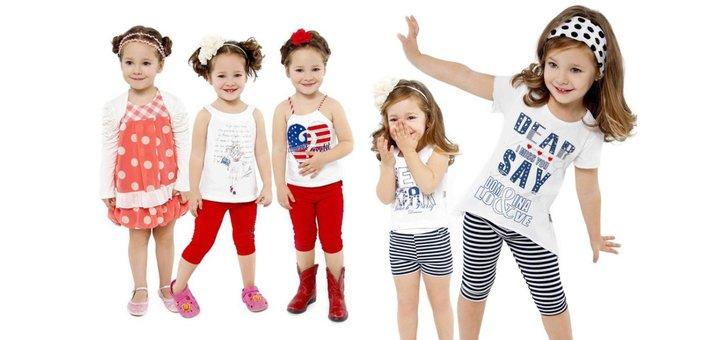 Скидка 50% на детские шорты и джинсы Levis.